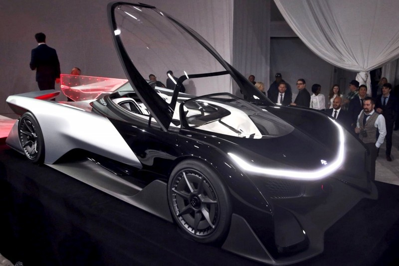 2016 Faraday Future FFZERO1 Concept 11