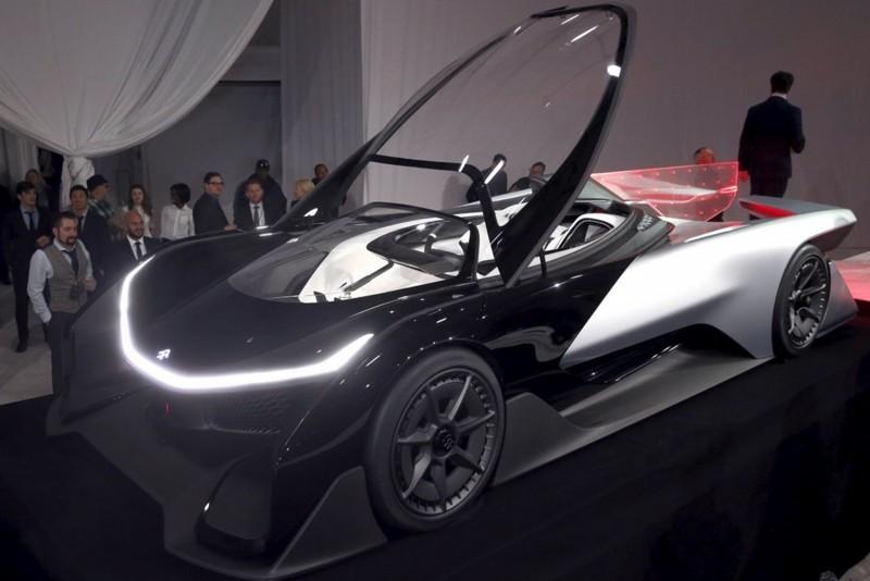 2016 Faraday Future FFZERO1 Concept 11