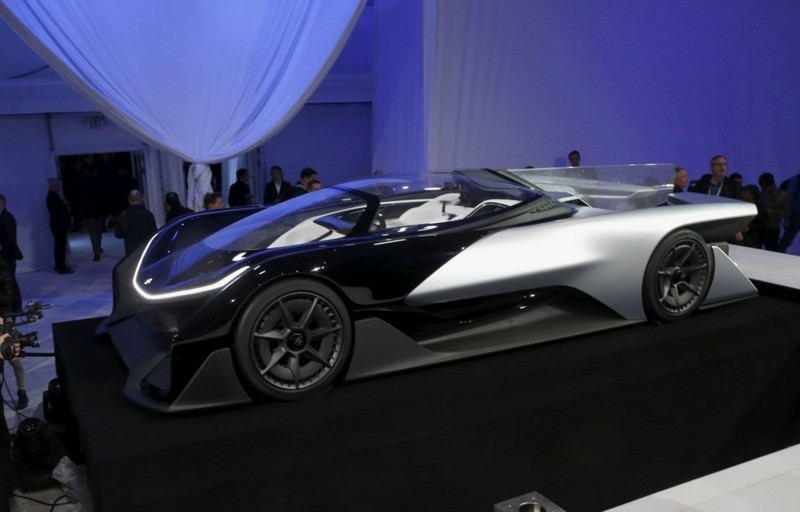 2016 Faraday Future FFZERO1 Concept 12