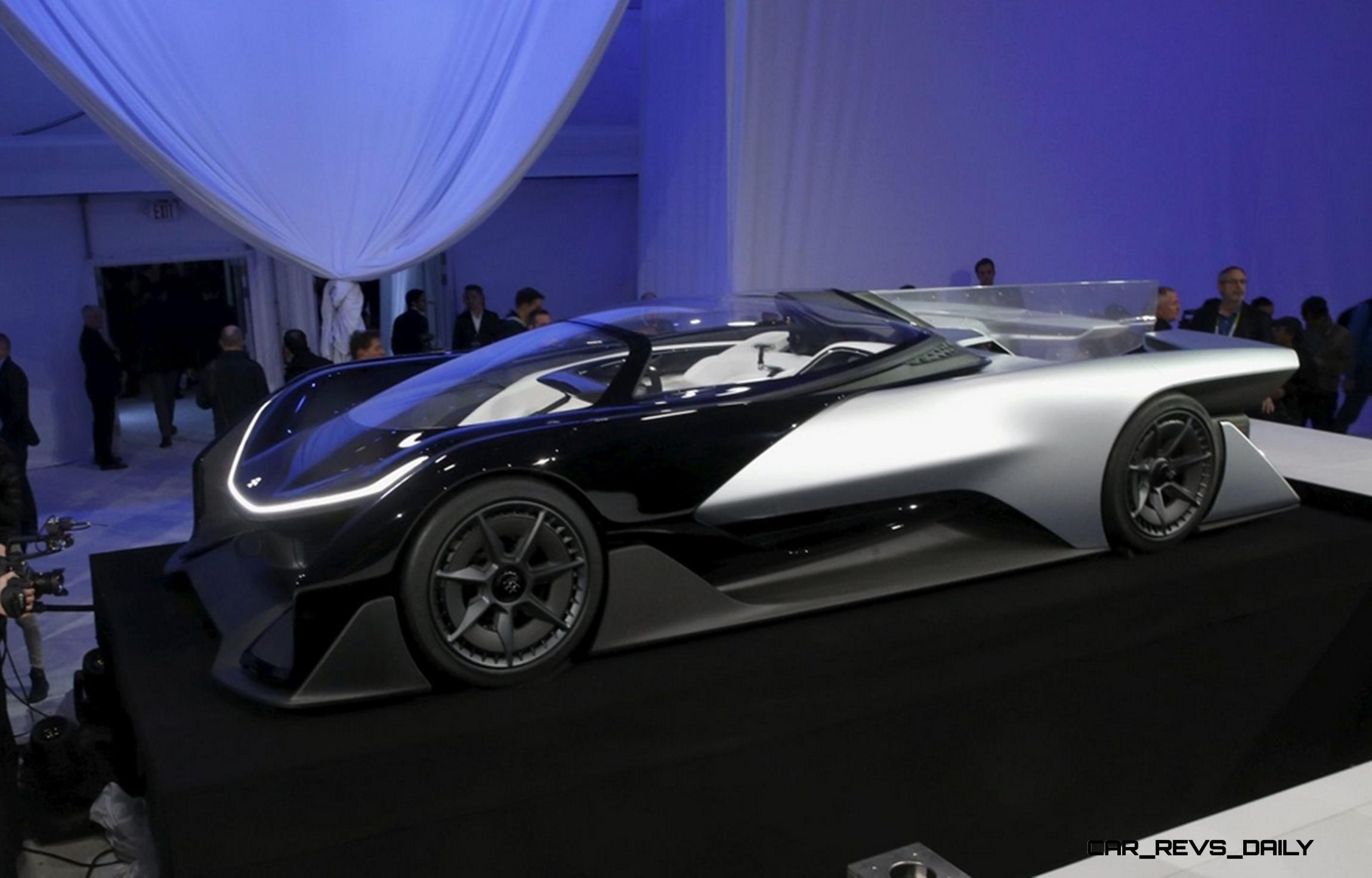 2016 Faraday Future FFZERO1 Concept Throws Down Gauntlet