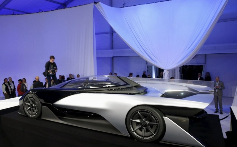 2016 Faraday Future FFZERO1 Concept 13