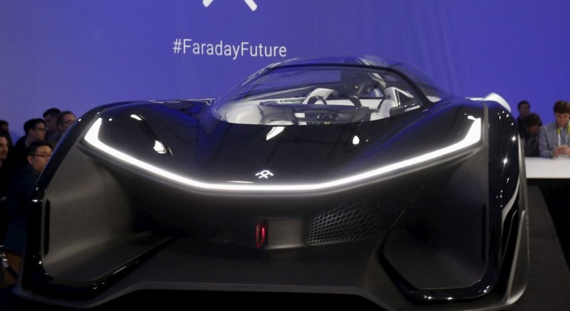 2016 Faraday Future FFZERO1 Concept 17