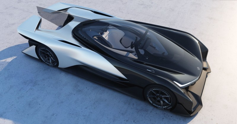2016 Faraday Future FFZERO1 Concept 31