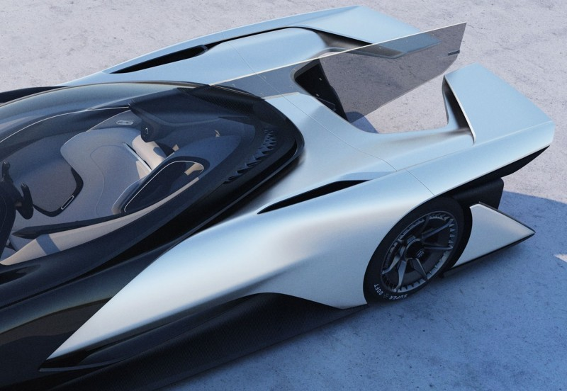 2016 Faraday Future FFZERO1 Concept 37