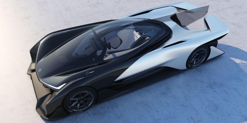 2016 Faraday Future FFZERO1 Concept 38