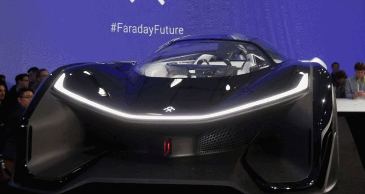 2016 Faraday Future FFZERO1 Concept