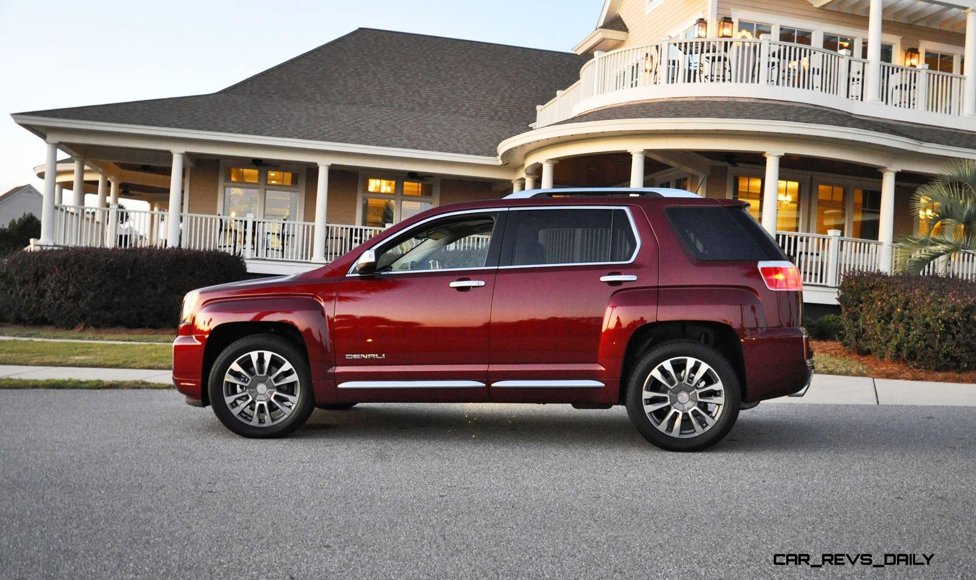 hd road test review 2016 gmc terrain denali awd v6. Black Bedroom Furniture Sets. Home Design Ideas