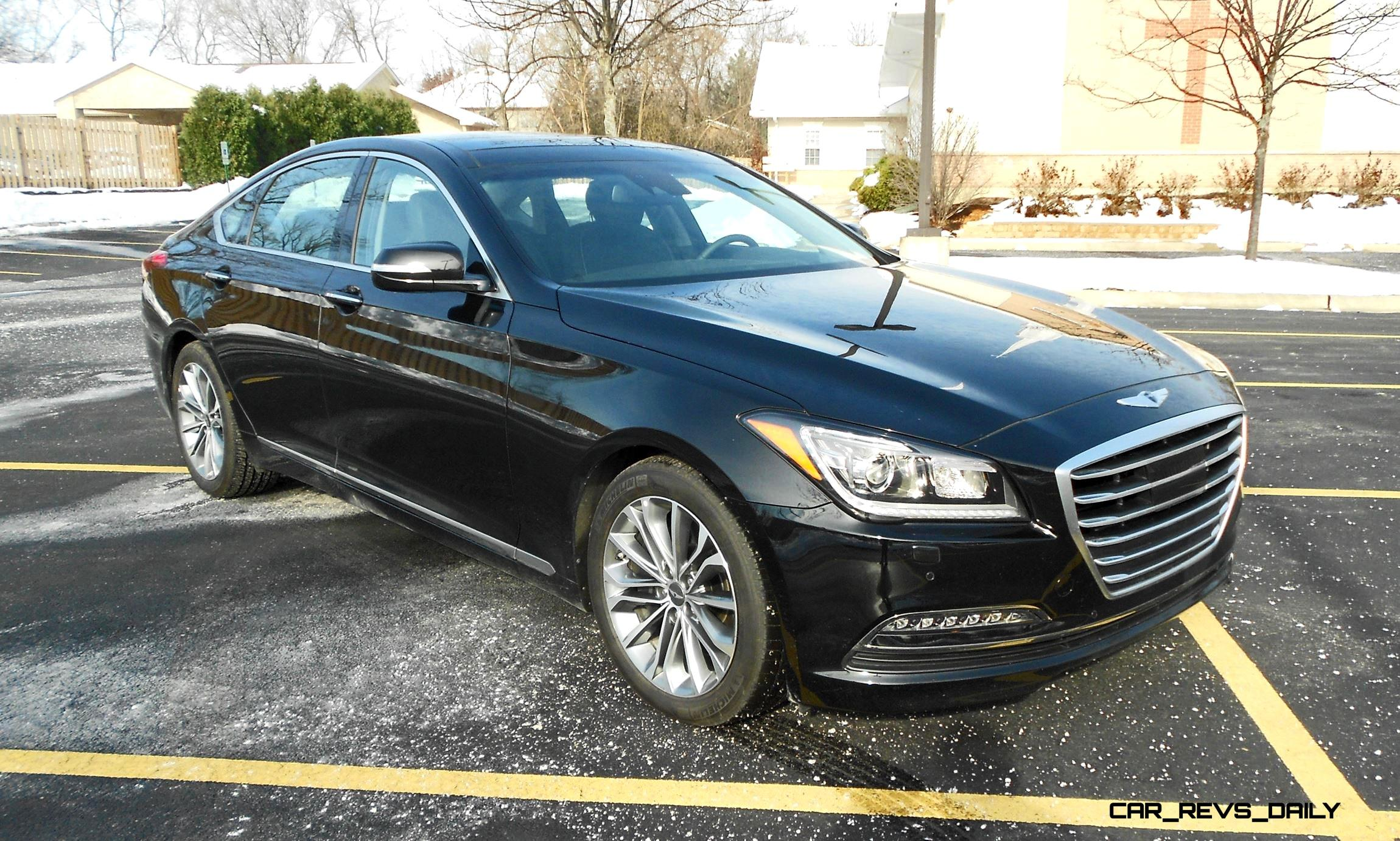 Road Test Review U2013 2016 Hyundai Genesis ...
