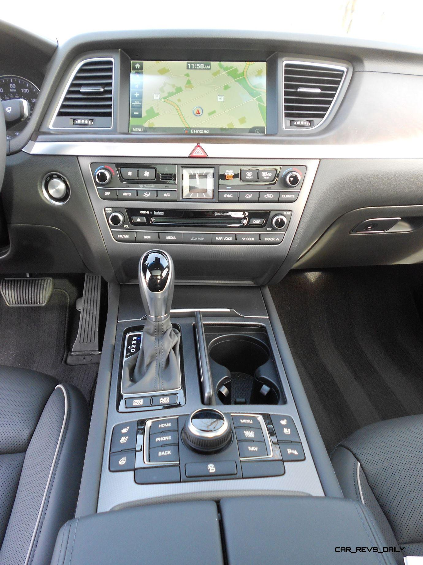 2016 Hyundai Genesis Awd 3 8 Review Interior 6