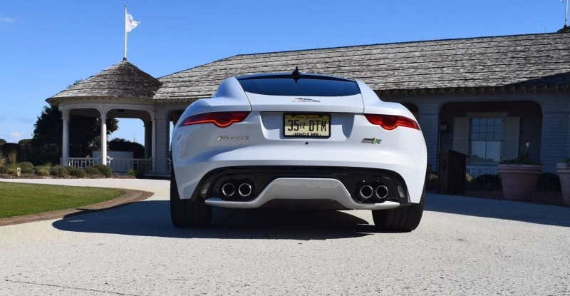 2016 JAGUAR F-Type R AWD White with Black Pack 100