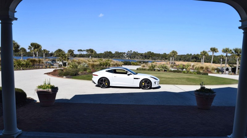 2016 JAGUAR F-Type R AWD White with Black Pack  102