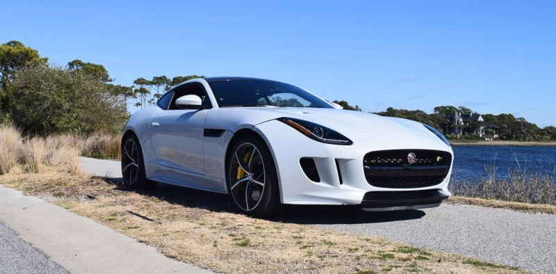 2016 JAGUAR F-Type R AWD White with Black Pack 105