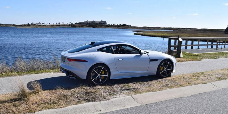 2016 JAGUAR F-Type R AWD White with Black Pack 108