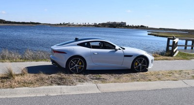 2016 JAGUAR F-Type R AWD White with Black Pack 109