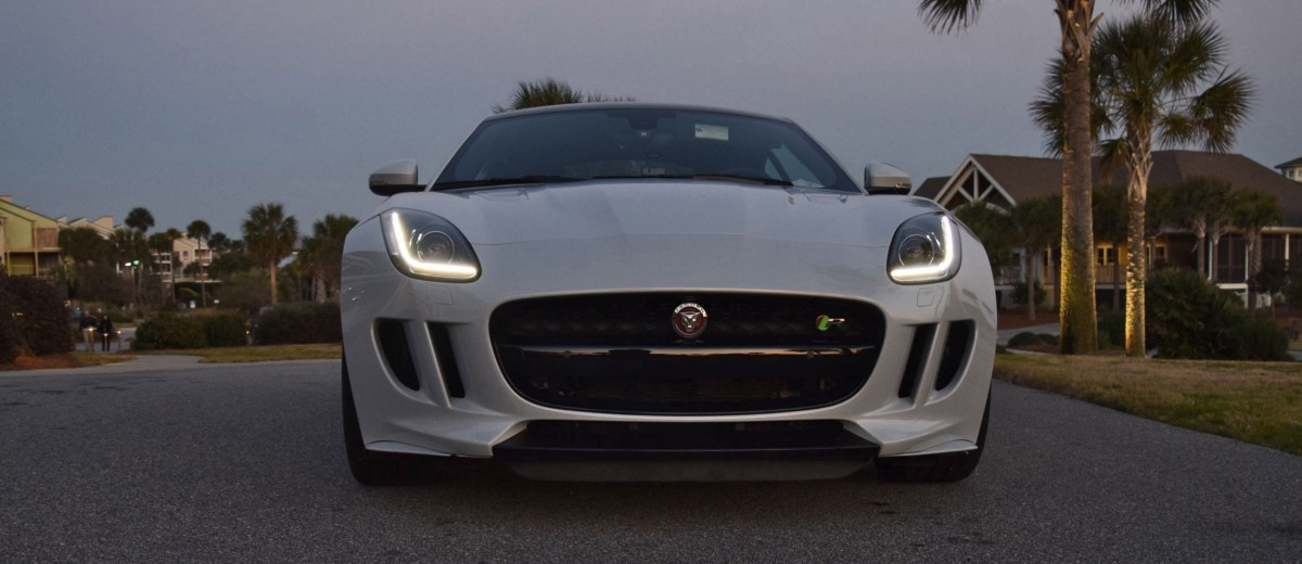 2016 JAGUAR F-Type R AWD White with Black Pack  28
