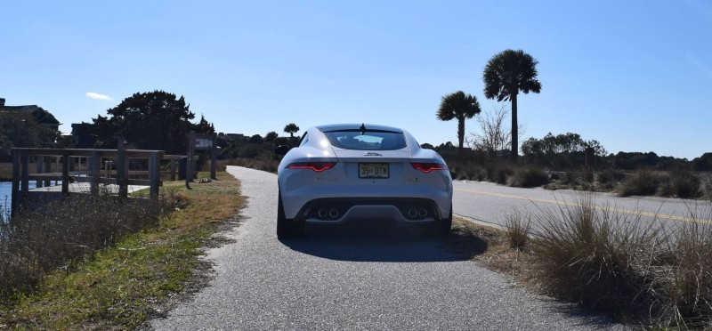 2016 JAGUAR F-Type R AWD White with Black Pack 50