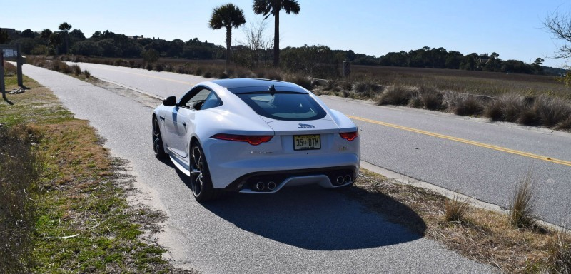 2016 JAGUAR F-Type R AWD White with Black Pack 53
