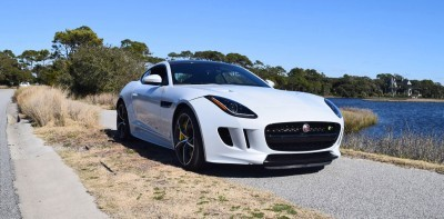 2016 JAGUAR F-Type R AWD White with Black Pack 56