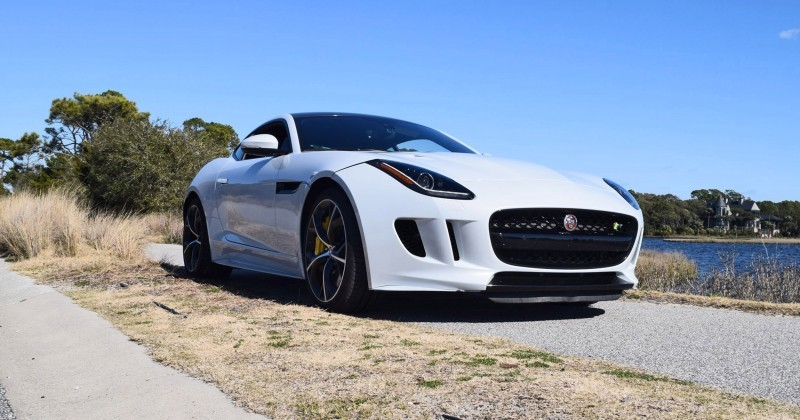 2016 JAGUAR F-Type R AWD White with Black Pack 57