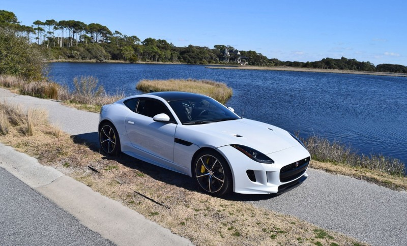 2016 JAGUAR F-Type R AWD White with Black Pack 58