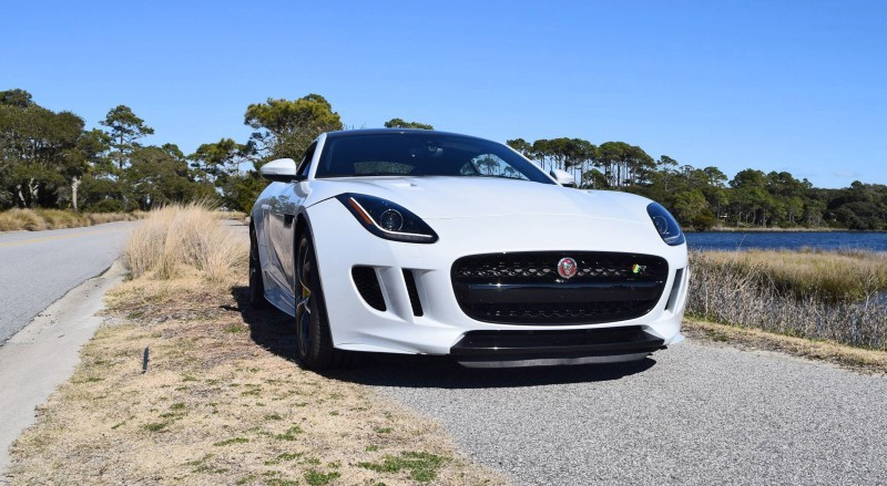 2016 JAGUAR F-Type R AWD White with Black Pack  59