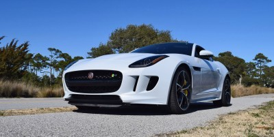 2016 JAGUAR F-Type R AWD White with Black Pack 66