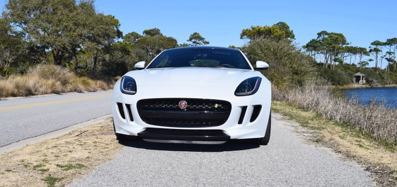 2016 JAGUAR F-Type R AWD White with Black Pack  67