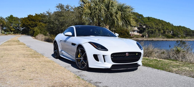 2016 JAGUAR F-Type R AWD White with Black Pack 69