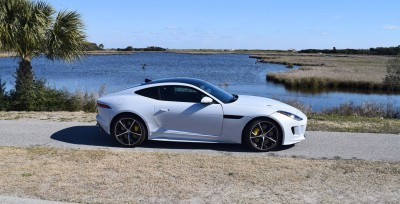 2016 JAGUAR F-Type R AWD White with Black Pack 70