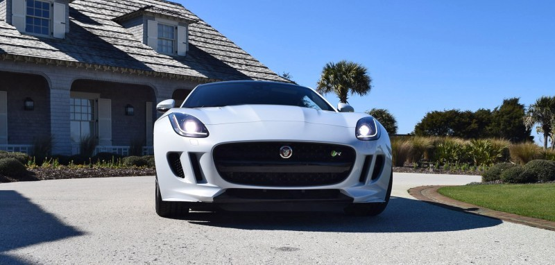 2016 JAGUAR F-Type R AWD White with Black Pack 71