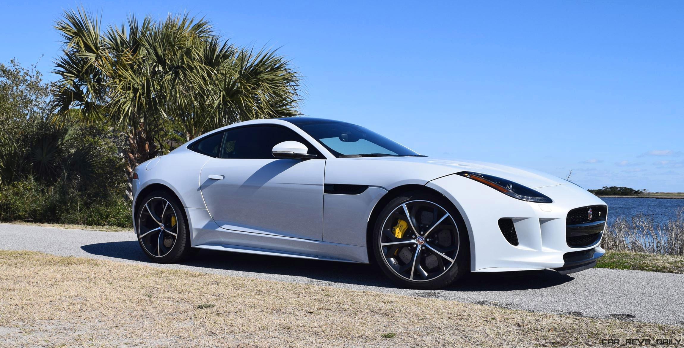 2016 jaguar f type coupe meets its rivals porsche 911 gts and aston martin v8 vantage car. Black Bedroom Furniture Sets. Home Design Ideas