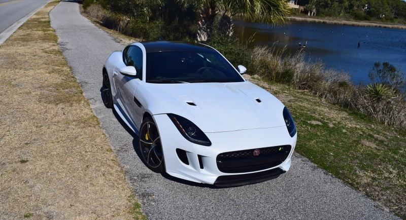 2016 JAGUAR F-Type R AWD White with Black Pack  74