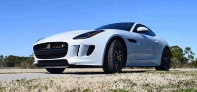 2016 JAGUAR F-Type R AWD White with Black Pack 75