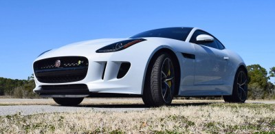 2016 JAGUAR F-Type R AWD White with Black Pack 76