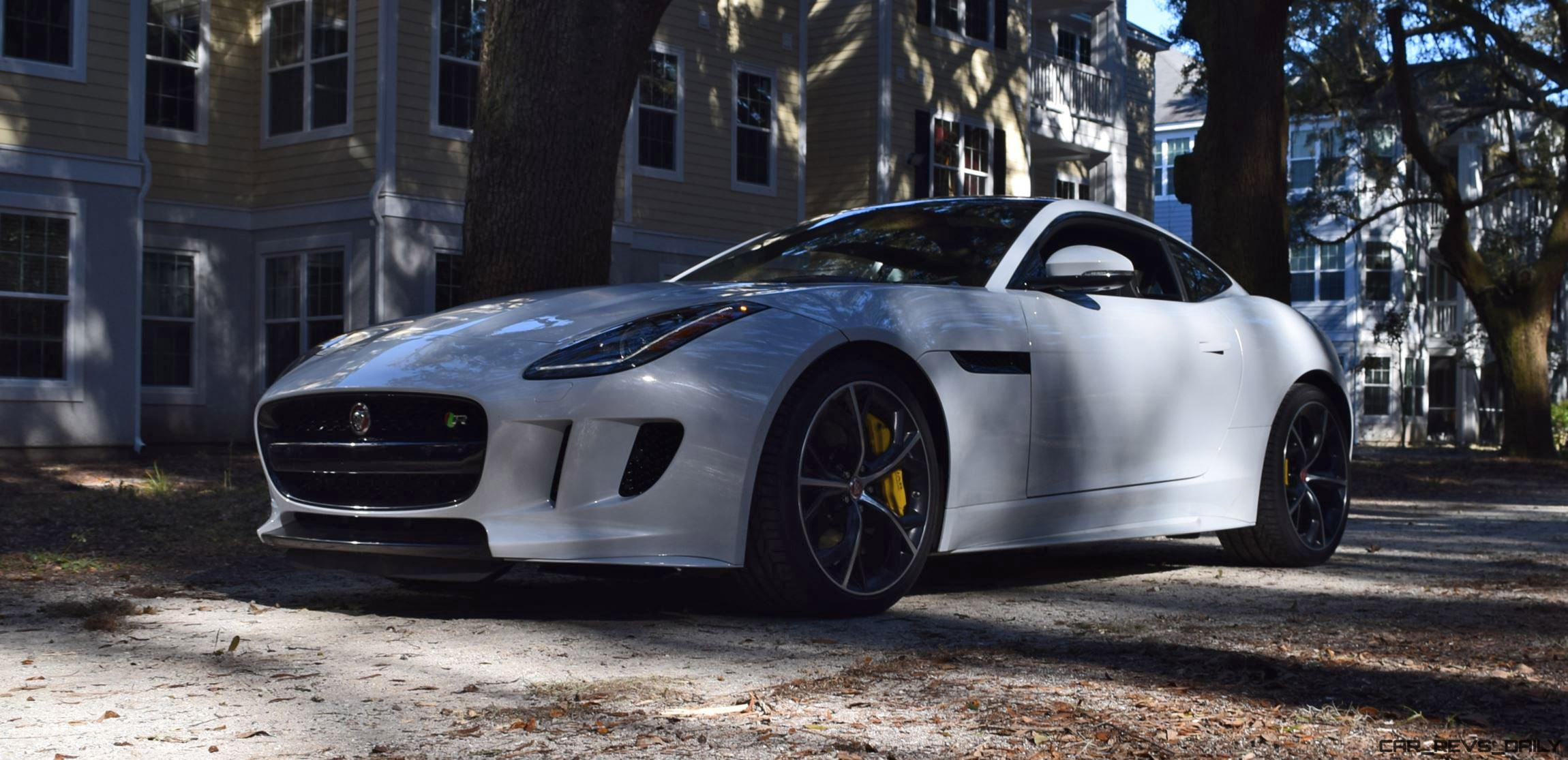 hd pre review 550hp 2016 jaguar f type r awd first 120 photos 3 hd drive videos car. Black Bedroom Furniture Sets. Home Design Ideas