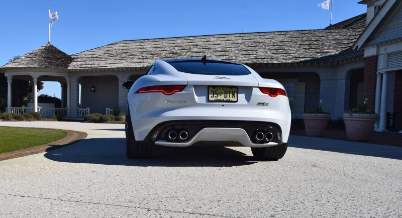 2016 JAGUAR F-Type R AWD White with Black Pack 99