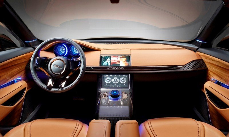2016 JAGUAR XQ-Type Preview - C-X17 SUV INTERIOR 11