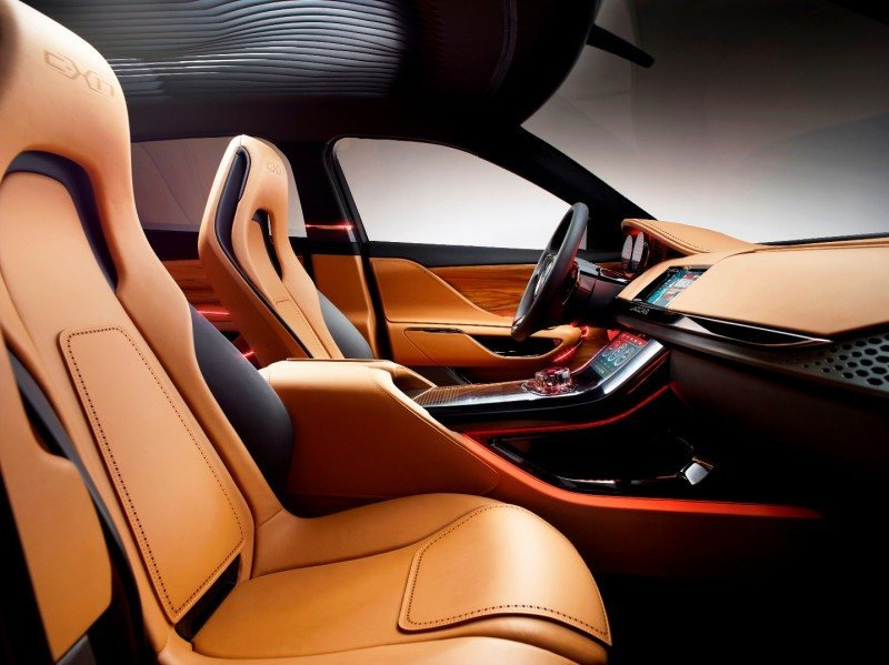 2016 JAGUAR XQ-Type Preview - C-X17 SUV INTERIOR 13