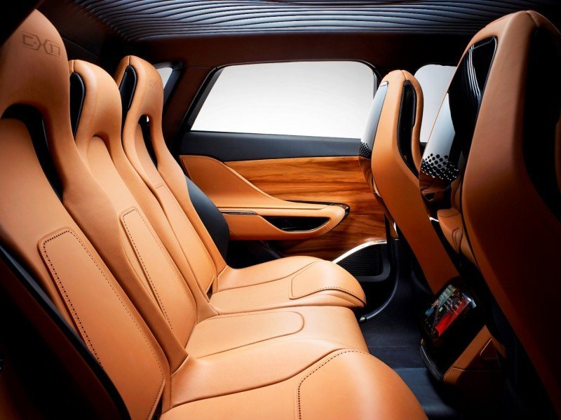 2016 JAGUAR XQ-Type Preview - C-X17 SUV INTERIOR 14