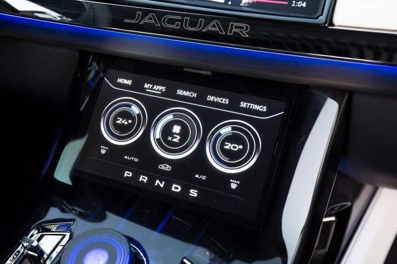 2016 JAGUAR XQ-Type Preview - C-X17 SUV INTERIOR 17