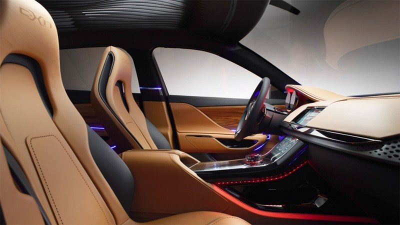 2016 JAGUAR XQ-Type Preview - C-X17 SUV INTERIOR 2
