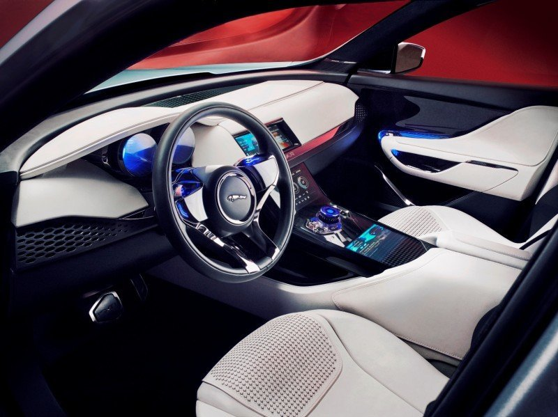 2016 JAGUAR XQ-Type Preview - C-X17 SUV INTERIOR 29
