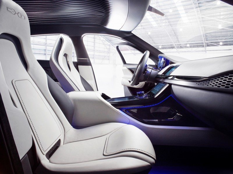 2016 JAGUAR XQ-Type Preview - C-X17 SUV INTERIOR 32