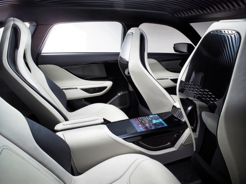 2016 JAGUAR XQ-Type Preview - C-X17 SUV INTERIOR 33