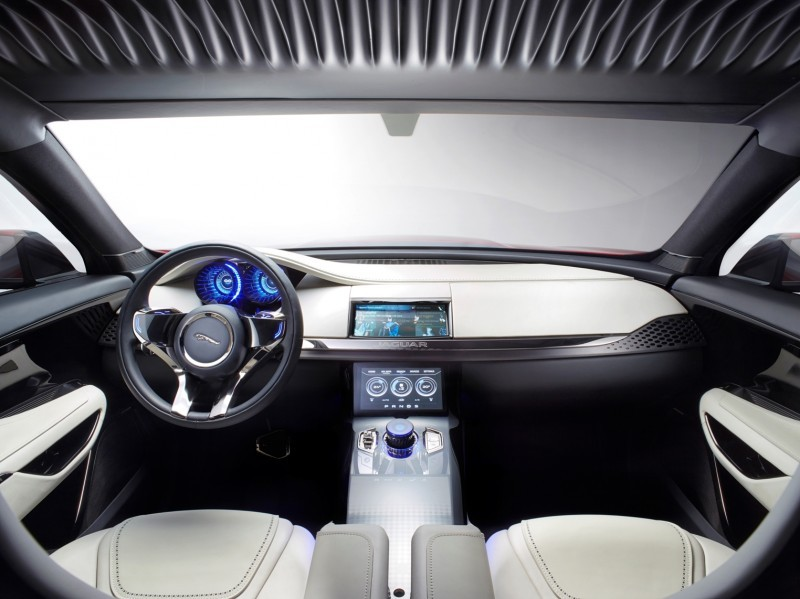 2016 JAGUAR XQ-Type Preview - C-X17 SUV INTERIOR 34