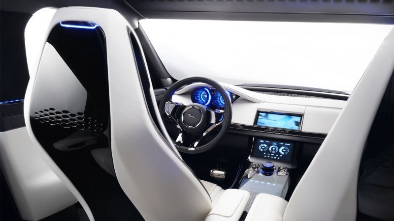 2016 JAGUAR XQ-Type Preview - C-X17 SUV INTERIOR 37