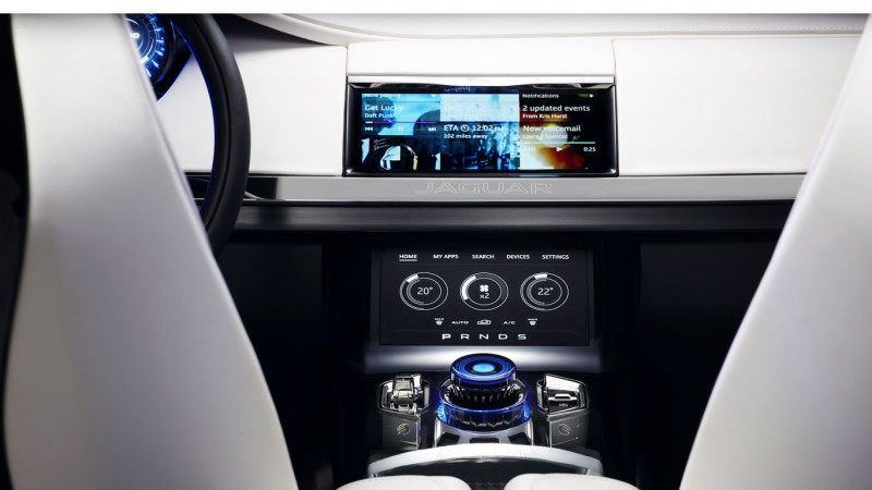 2016 JAGUAR XQ-Type Preview - C-X17 SUV INTERIOR 38
