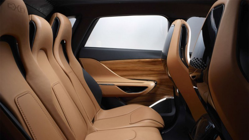 2016 JAGUAR XQ-Type Preview - C-X17 SUV INTERIOR 4