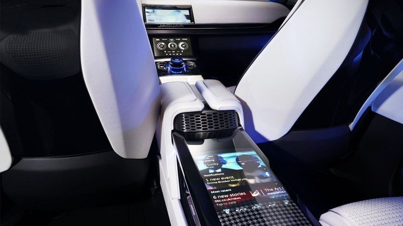 2016 JAGUAR XQ-Type Preview - C-X17 SUV INTERIOR 40