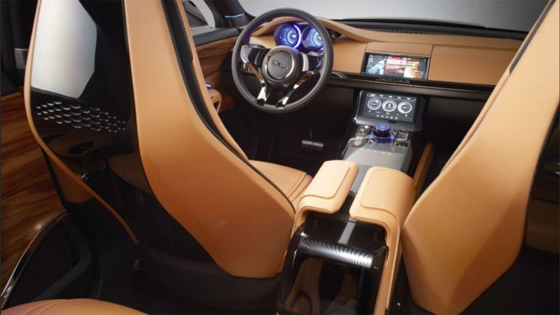 2016 JAGUAR XQ-Type Preview - C-X17 SUV INTERIOR 5